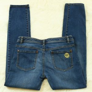 Michael Kors Straight Leg Blue Jeans